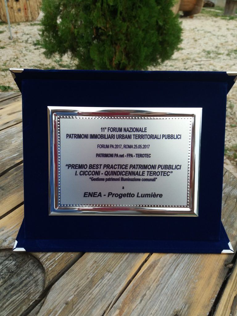Premio Best Practice Patrimoni Pubblici PA 2017